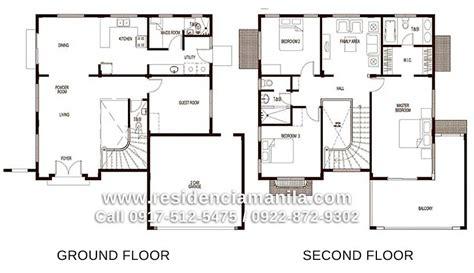 House Floor Plan Philippines Bungalow House Design Plans