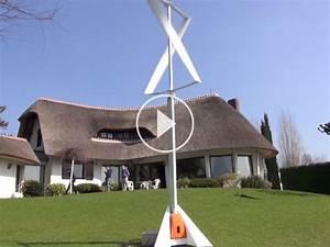une petite eolienne verticale qui s39installe en un temps With petite eolienne de jardin