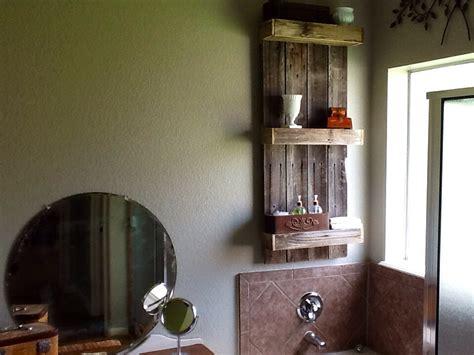 remodelaholic build  easy rustic bathroom shelf