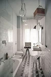 Salle De Bain Etroite : 165 meilleures images du tableau salle de bains troite en 2019 apartment bathroom design ~ Melissatoandfro.com Idées de Décoration