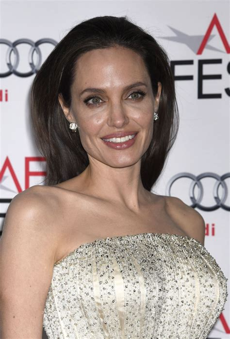 ANGELINA JOLIE at AFI Fest 2015 Opening Night Gala in ...