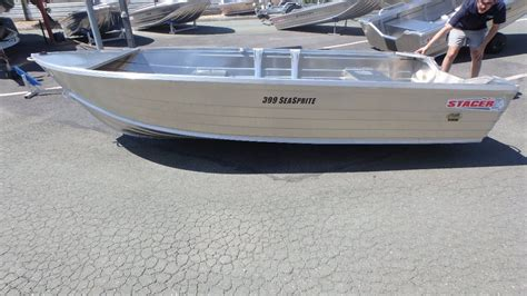 Boat Trailer Only For Sale by New Stacer 399 Seasprite Hull Only Trailer Boats Boats
