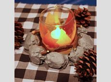 How to Throw an Indoor Camping Party Centerpiece ideas