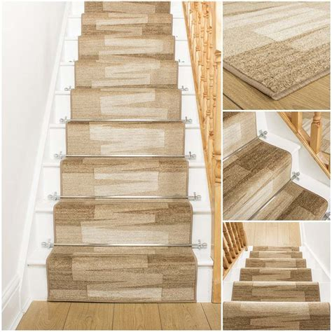 big rugs for cheap veneto beige stair carpet runner for narrow staircase
