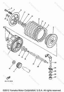 Yamaha Atv 2006 Oem Parts Diagram For Clutch