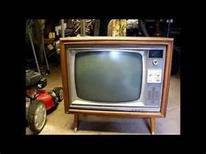 First Look At A  U0026 39 66 Rca Victor Ctc17 Console Color Tv  U0026 An  U0026 39 83 Ge 10 U0026quot   U0026quot Portacolor Iii U0026quot