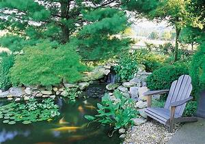 67 cool backyard pond design ideas digsdigs for Back yard koi pond