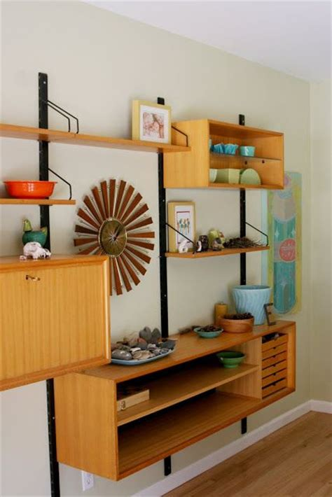 awesome  functional mid century wall units digsdigs
