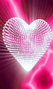 Pink Sparkle Hearts