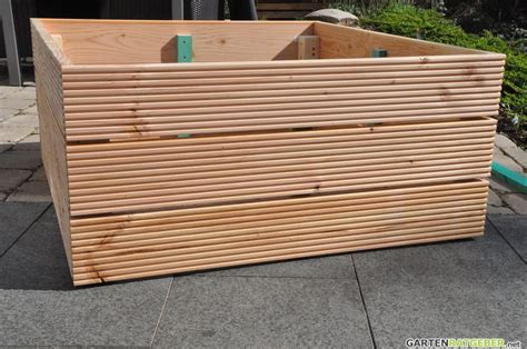 Hochbeet Welches Holz hochbeet selber bauen 187 aus holz 187 anleitung mit bildern