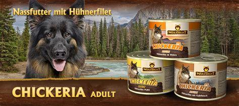 wolfsblut chickeria nassfutter fuer ausgewachsene hunde