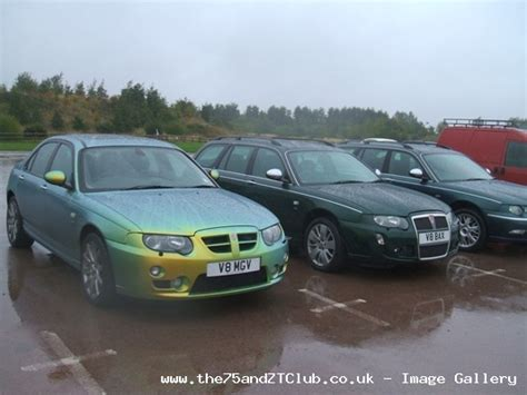 10 Year Rover 75 Meet Up Pictures