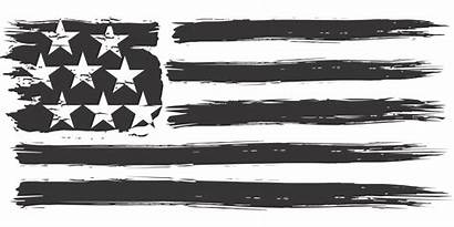 Flag Usa Distressed Stripes Stars Vector Domain