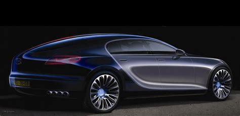 Bugatti Sedan by Four Door Bugatti Sedan Has A New Lease On