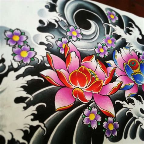 Best 25+ Japanese Flower Tattoo Ideas On Pinterest