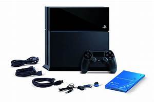 SONY Playstation 4 PS4 Game Console in Jet Black 500GB UK ...