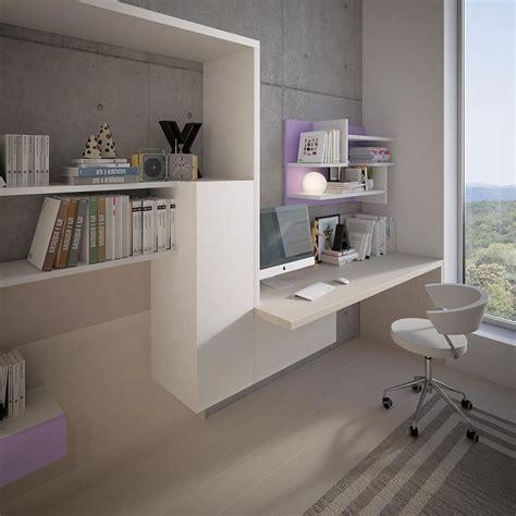 libreria scrivania con letto e scaletta contenitore marzorati