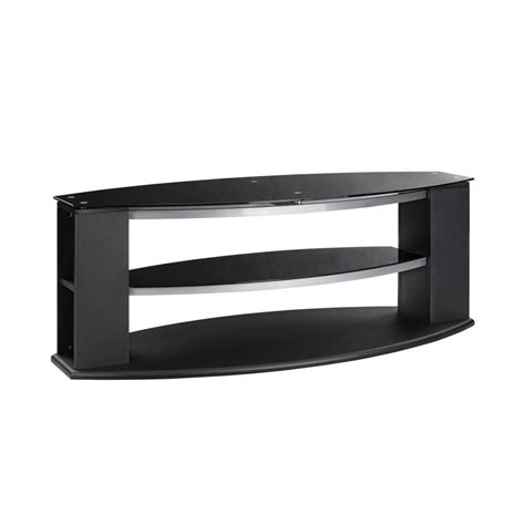 glass tv stand black tv stands
