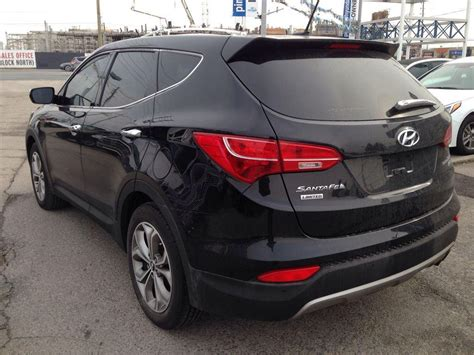 Hyundai Santa Fe Turbo by 2013 Hyundai Santa Fe Limited Navigation Turbo 25288