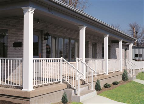 aluminum columns porch posts  time manufacturing company