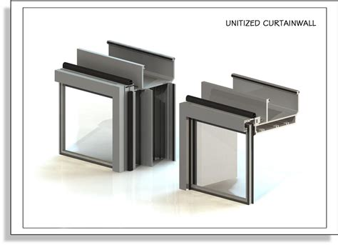 Unitized Curtain Wall Design by Ecs Usa