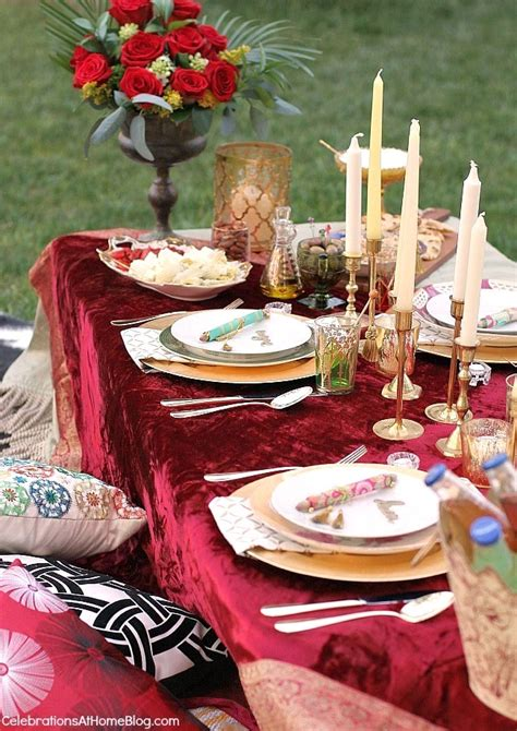Moroccan Inspired Party Tablescape & Party Ideas