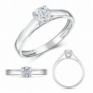 Luxury 9 Carat White Gold Wedding Rings