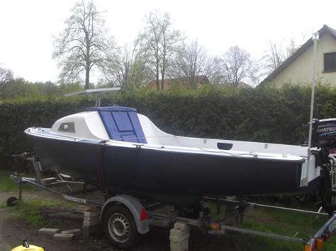 boot mit trailer gfk boot mit trailer und motor in schulzendorf motorboote kaufen und verkaufen 252 ber