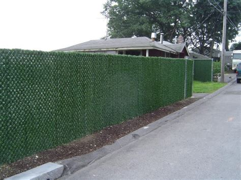 cover for chain link fence how to cover a chain link fence for privacy ebay