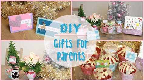diy holiday gift ideas  parents ilikeweylie youtube