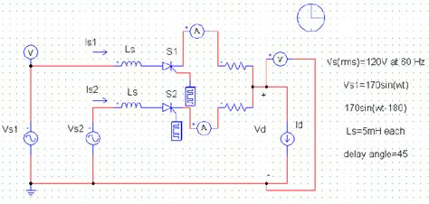 inverter 3 phase the study of simulation of power converter circuits