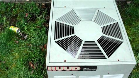 My Ruud AC unit short coil cleaning and third startup of ...