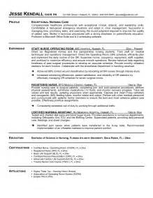 Free Registered Resume Sle by Free Rn Resume Template Birthday Itinerary Template Free