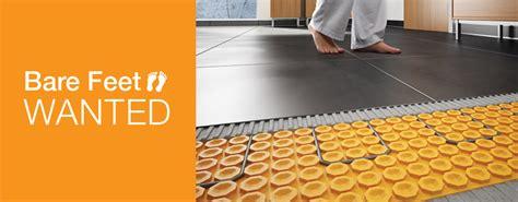 Schluter Heated Floor by Floor Heating System