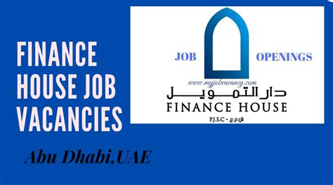 Finance House Job Vacancies & Careers: Abu Dhabi,UAE