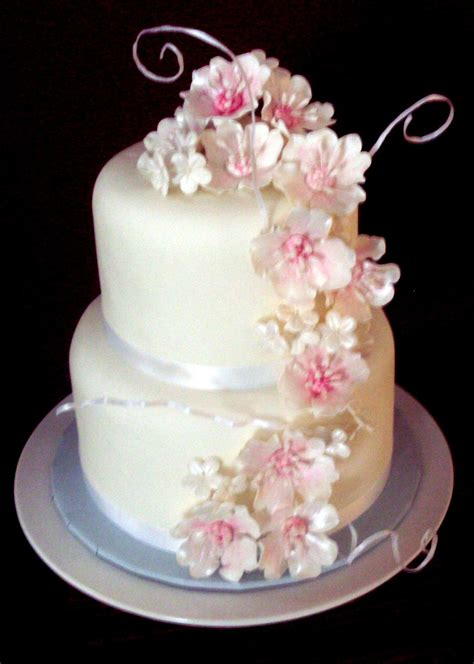 fantasy flower wedding cake future wedding ideas