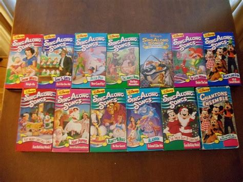 disney sing along songs vhs 90 s disney disney kid and a child