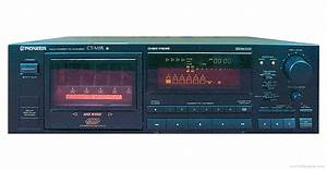 Pioneer Ct-m5r - Manual - Multi-cassette Changer
