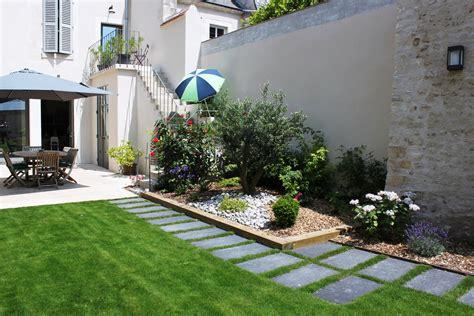 Amenager Un Jardin by Am 233 Nager Petit Jardin 30m2 Am 233 Nager Une Cour En Jardin