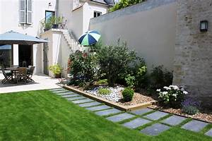 emejing amenager un jardin contemporain contemporary With amenager un jardin contemporain