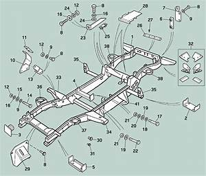 Land Rover Defender Chassis Repair Components