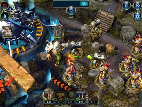 defenders combines tower defense  ccg   epic game