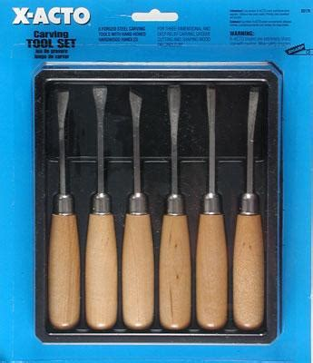 acto carving tool set