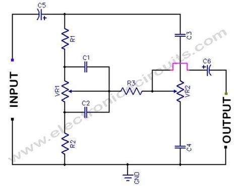 Bass Treble Tone Control Circuit Diagram Vortaxx