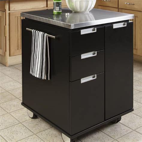 kitchen island cart stainless steel top kitchen cart with stainless steel top modern kitchen