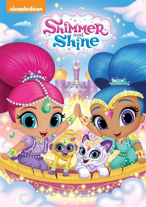 shimmer and shine l nickelodeon 39 s shimmer shine on dvd today lovebugs and