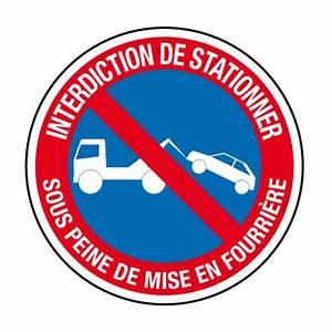 Panneau Interdit De Stationner : ci21 panneau interdiction de stationner fourri re ~ Dailycaller-alerts.com Idées de Décoration