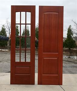 HomeOfficeDecoration | Exterior wooden doors with glass panels