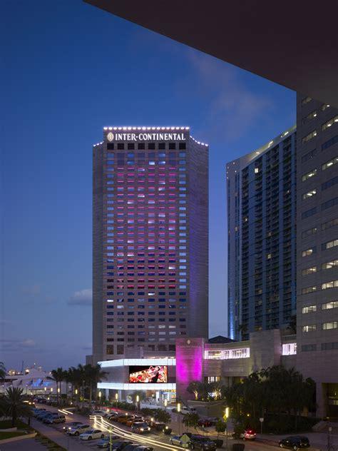 intercontinental hotel miami architect magazine lohan