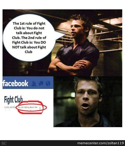 Fight Club Memes - you do not talk about fight club by zoltan119 meme center